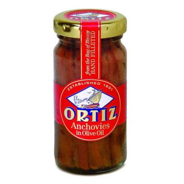 Ortiz Anchovies Jar