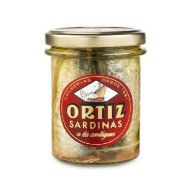 Ortiz sardinas jar