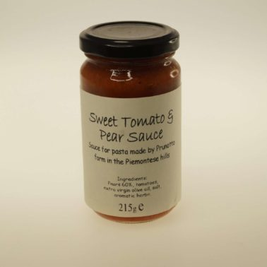 sweet tomato & pear sauce