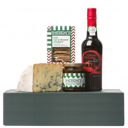 Hamper1 Stilton & port