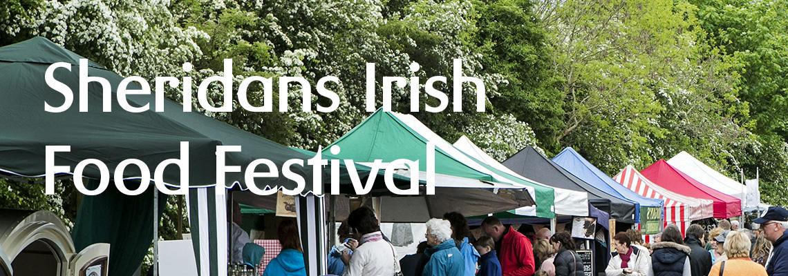 Sheridans festival banner